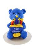 Menorah Bear Royalty Free Stock Image