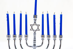 Menorah Candles Royalty Free Stock Photo