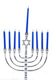 Menorah Candles Stock Photo