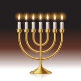 Menorah candles Royalty Free Stock Image