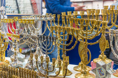 Menorah collection Royalty Free Stock Image