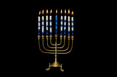 menorah hanukkah Стоковое Фото