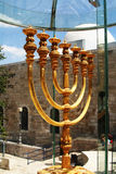 Menorah sculpture Stock Photos