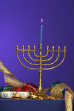 Menorah series 1 Stock Photos