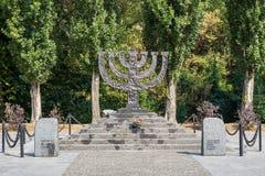 Free Menorah-shaped Monument To Jews Massacred At Babi Yar Stock Photo - 157634260
