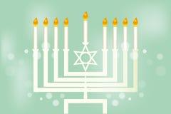 Hanukkah - festival of lights stock illustration