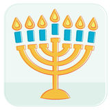 Menorah. Royalty Free Stock Images