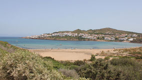 Menorca, Baleares, Spain: almost desert beach Stock Photo