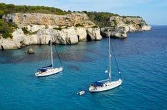Menorca, Balearic Island, Spagna fotografia stock libera da diritti