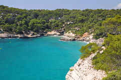 Menorca balearic island view Stock Image