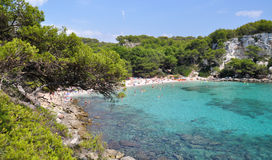 Menorca balearic island view Royalty Free Stock Photo