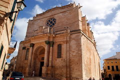 Menorca - Balearic Islands - Menorca tourist islan Royalty Free Stock Photo