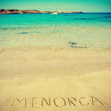Menorca, Balearic Islands, Spain Stock Photos