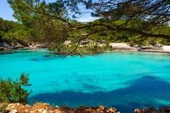 Menorca Cala en Turqueta Ciutadella Balearic Mediterranean Royalty Free Stock Images