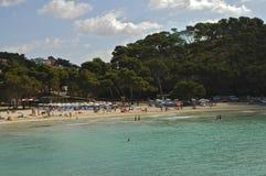 Menorca Cala Galdana Spain Fotografia de Stock Royalty Free