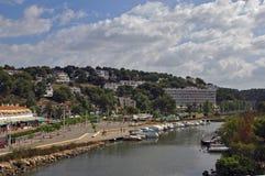 Menorca Cala Galdana Spanien Lizenzfreies Stockfoto