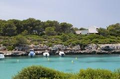 Menorca Cala Santandria Stock Photos