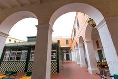 Menorca ciutadella market in balearic islands Stock Images