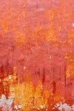 Menorca Ciutadella red grunge facade texture Royalty Free Stock Photography