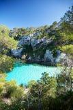 Menorca cliff Stock Photo