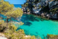 Menorca coast Stock Photo