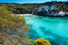 Menorca coast Royalty Free Stock Image