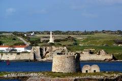 Menorca - de Balearen - Spanje Stock Foto