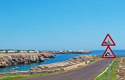 Menorca, de Balearen, Spanje Stock Afbeelding