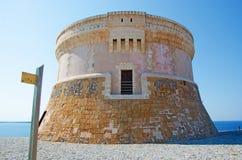 Menorca, de Balearen, Spanje royalty-vrije stock foto's