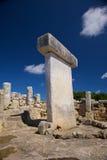 Menorca Great Taula Stock Image