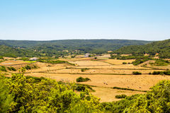Menorca-Insel landcape Lizenzfreies Stockbild