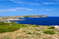 Menorca island coast Royalty Free Stock Photography
