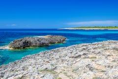 Menorca island coast Royalty Free Stock Photo