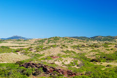 Menorca Island landscape Stock Image