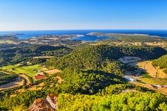 Menorca island landscape Stock Photo