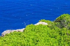 Menorca island sea coast Royalty Free Stock Image