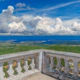 Menorca Island Sunny Landscape viewed from Monte Toro