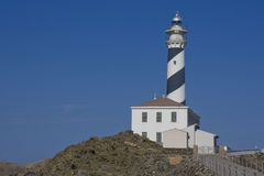Menorca lighthouse Royalty Free Stock Image