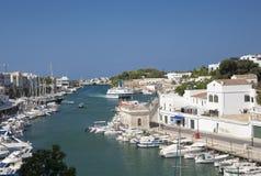 Menorca marina Royaltyfria Foton
