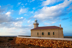 Menorca Punta Nati Faro lighthouse Balearic Islands Royalty Free Stock Photo