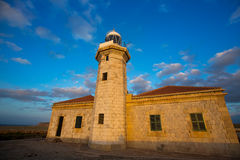 Menorca Punta Nati Faro lighthouse Balearic Islands Royalty Free Stock Image