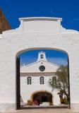 Menorca Sanctuary Mare de Deu del托罗 库存照片