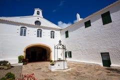 Menorca Sanctuary Mare de Deu del托罗 库存图片