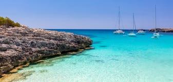 Menorca seascape Obrazy Royalty Free