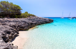 Menorca seascape Stock Photos