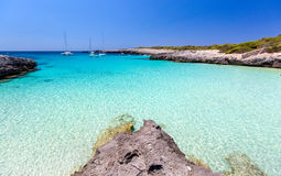 Menorca seascape Royalty Free Stock Photo