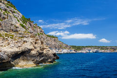 Menorca south coast Royalty Free Stock Image