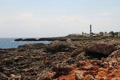 Menorca Spagna s'Algar Immagini Stock