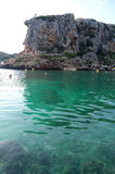 Menorca-Strand Stockfoto