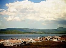 Menorca Urbanization Fornells Royalty Free Stock Photo